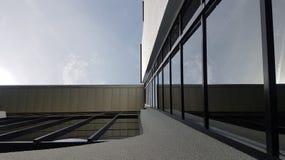 Τέχνη κτηρίων του σχεδίου Στοκ Εικόνες