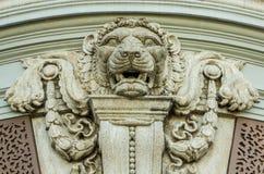 Τέχνη λιονταριών Στοκ Εικόνες