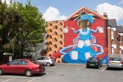 Τέχνη Λονδίνο οδών Στοκ εικόνα με δικαίωμα ελεύθερης χρήσης