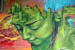 Τέχνη Μόντρεαλ οδών στοκ εικόνα