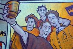 Τέχνη Μόντρεαλ οδών Στοκ εικόνες με δικαίωμα ελεύθερης χρήσης
