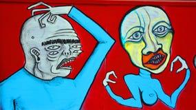 Τέχνη Μόντρεαλ οδών Στοκ φωτογραφίες με δικαίωμα ελεύθερης χρήσης