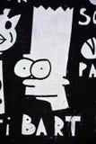 Τέχνη Μόντρεαλ οδών Στοκ εικόνα με δικαίωμα ελεύθερης χρήσης
