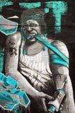 Τέχνη Μόντρεαλ οδών junky Στοκ Εικόνα