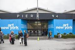 Τέχνη Νέα Υόρκη και ΠΛΑΙΣΙΟ Νέα Υόρκη Στοκ φωτογραφία με δικαίωμα ελεύθερης χρήσης