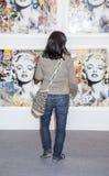 Τέχνη Νέα Υόρκη και ΠΛΑΙΣΙΟ Νέα Υόρκη Στοκ Εικόνα