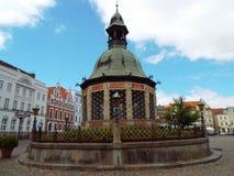 Τέχνη νερού, Wismar, Γερμανία, 2014 Στοκ εικόνες με δικαίωμα ελεύθερης χρήσης