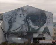 Τέχνη οδών, ένα ζεύγος Στοκ φωτογραφία με δικαίωμα ελεύθερης χρήσης