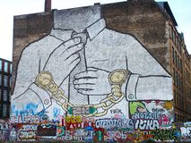 Τέχνη οδών στο Βερολίνο στοκ φωτογραφία με δικαίωμα ελεύθερης χρήσης