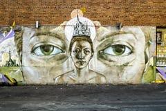 Τέχνη οδών στο Μόντρεαλ στοκ φωτογραφίες