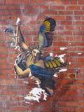 Τέχνη οδών στο Σιάτλ Στοκ φωτογραφία με δικαίωμα ελεύθερης χρήσης