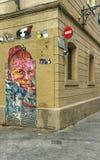 Τέχνη οδών της Βαρκελώνης στοκ φωτογραφίες με δικαίωμα ελεύθερης χρήσης