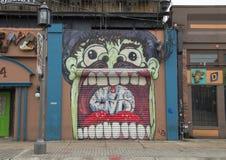 Τέχνη οικοδόμησης σε βαθύ Ellum, Ντάλλας, Τέξας Στοκ φωτογραφίες με δικαίωμα ελεύθερης χρήσης