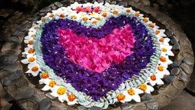 Τέχνη λουλουδιών Στοκ εικόνες με δικαίωμα ελεύθερης χρήσης