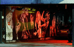 Τέχνη οδών, Μπρίστολ Στοκ Εικόνες
