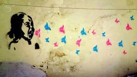 Τέχνη οδών στη Λισσαβώνα, Πορτογαλία Στοκ Εικόνες
