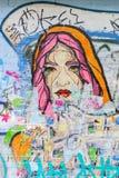 Τέχνη οδών στο Λονδίνο, UK Στοκ Εικόνα
