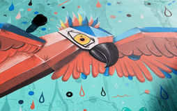 Τέχνη οδών του Μπουένος Άιρες, Αργεντινή Στοκ φωτογραφία με δικαίωμα ελεύθερης χρήσης