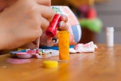 Τέχνη παιδιών Στοκ Φωτογραφία