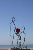 Τέχνη παραλιών Στοκ φωτογραφίες με δικαίωμα ελεύθερης χρήσης