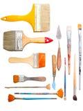 Τέχνη που κατασκευάζει τα εργαλεία Στοκ Εικόνες