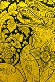 τέχνη που χρωματίζει Ταϊλα&n Στοκ εικόνα με δικαίωμα ελεύθερης χρήσης