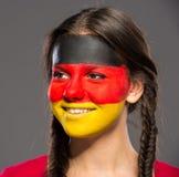 Τέχνη προσώπου Σημαίες Στοκ εικόνα με δικαίωμα ελεύθερης χρήσης