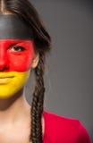 Τέχνη προσώπου Σημαίες Στοκ Φωτογραφίες
