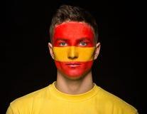 Τέχνη προσώπου Σημαίες Στοκ Φωτογραφία