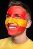 Τέχνη προσώπου Σημαίες Στοκ φωτογραφία με δικαίωμα ελεύθερης χρήσης