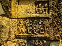 Τέχνη σε Angkor Thom Στοκ Εικόνες