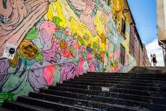 Τέχνη σκαλοπατιών Στοκ Εικόνες