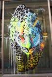 Τέχνη στην οδό - πάνθηρας Στοκ Φωτογραφίες