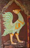 Τέχνη στον τοίχο Στοκ εικόνα με δικαίωμα ελεύθερης χρήσης