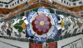 Τέχνη στο stupa στο ναό Wat Arun Στοκ Εικόνες
