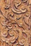 Τέχνη σχεδίων της ξύλινης γλυπτικής Στοκ φωτογραφία με δικαίωμα ελεύθερης χρήσης