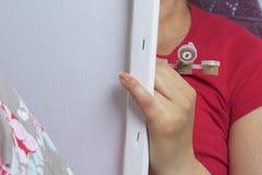 τέχνη Σχεδιασμός από τους αριθμούς Στοκ φωτογραφία με δικαίωμα ελεύθερης χρήσης
