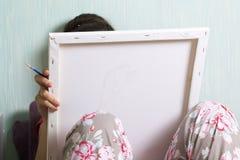 τέχνη Σχεδιασμός από τους αριθμούς Στοκ Φωτογραφίες