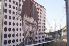 Τέχνη σύμφωνα με την υψηλή γραμμή Στοκ εικόνες με δικαίωμα ελεύθερης χρήσης