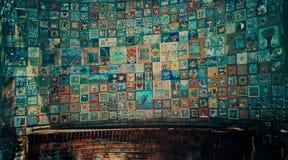 Τέχνη τοίχων μωσαϊκών στοκ εικόνα με δικαίωμα ελεύθερης χρήσης