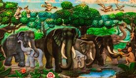 Τέχνη τοίχων στόκων Στοκ Εικόνες
