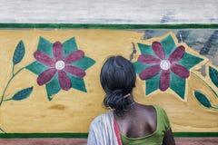 Τέχνη τοίχων Baha Στοκ Φωτογραφία