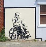 Τέχνη τοίχων Stewy Στοκ Φωτογραφίες