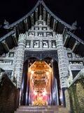 Τέχνη του ναού της Ταϊλάνδης, Wat Lok Moli Chiangmai Ταϊλάνδη. Στοκ Εικόνα