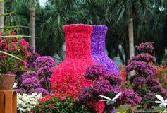 Τέχνη του λουλουδιού Στοκ Εικόνα