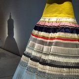 Τέχνη φορεμάτων στοκ φωτογραφία