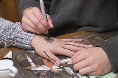 Τέχνη χεριών Στοκ φωτογραφία με δικαίωμα ελεύθερης χρήσης