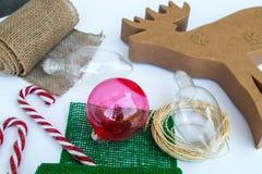 Τέχνη Χριστουγέννων Στοκ φωτογραφίες με δικαίωμα ελεύθερης χρήσης