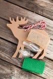 Τέχνη Χριστουγέννων Στοκ φωτογραφία με δικαίωμα ελεύθερης χρήσης