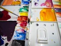 Τέχνη χρώματος ζωγραφικής Στοκ Εικόνα